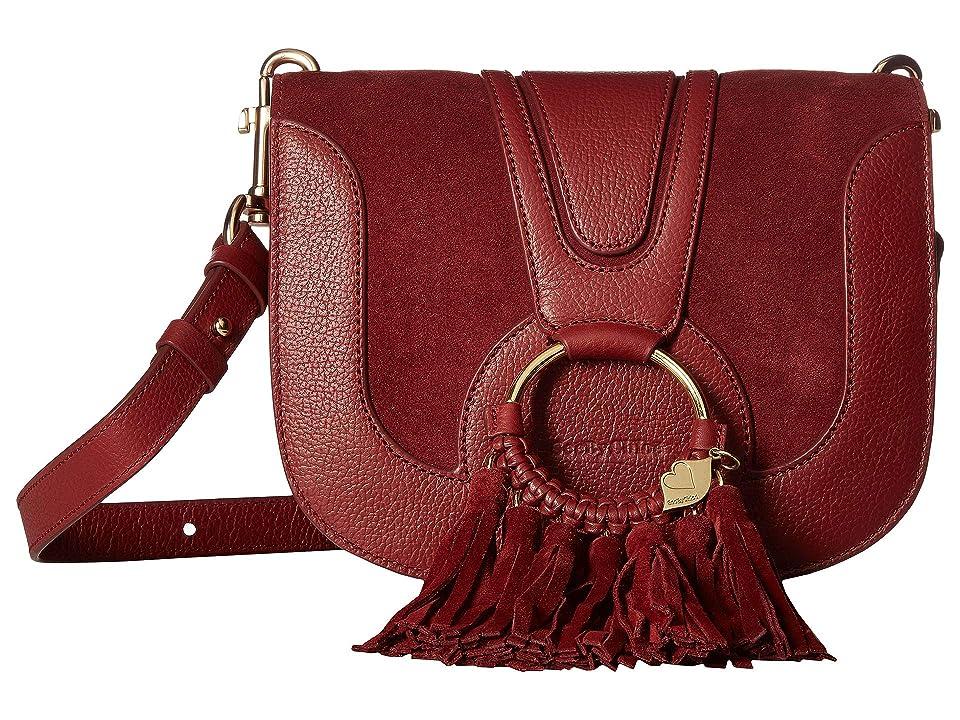 See by Chloe Hana Small Crossbody with Fringe (Acerola) Cross Body Handbags