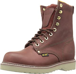 "حذاء عمل Adtec 1312 8"" Steel Toe Farm Redwood"