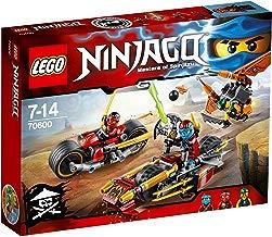 LEGO Ninjago - Playset Persecución en la Moto Ninja, (70600)