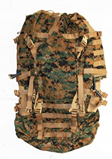 Arc'teryx USMC Field Pack, MARPAT Main Pack, Woodland Digital Camouflage, Spare Part, Component of Improved Load Bearing Equipment (ILBE)
