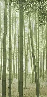Cosmo Noren Japanese Doorway Curtain Bamboo forest 33.5