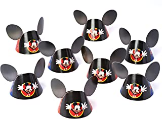 American Greetings Mickey Mouse Clubhouse Party Hat, Mickey Ears, 8-Count