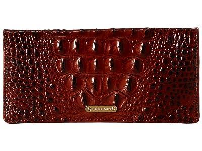 Brahmin Melbourne Ady Wallet (Pecan) Wallet Handbags