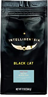 Intelligentsia Decaf Black Cat Espresso - 12 oz - Medium Roast, Water-Processed, Direct Trade, Whole Bean Coffee
