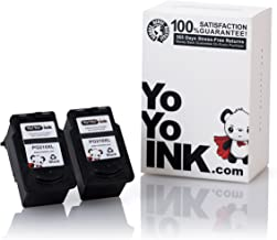 YoYoInk Remanufactured Ink Cartridge Replacement for Canon PG-210XL 210 High Yield (2 Black)