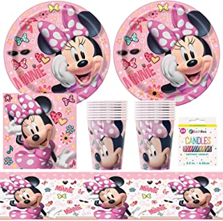 Napkins Celebration Party Supply 16 16 Minnie Mouse Minnies Happy Helpers 9 Plates