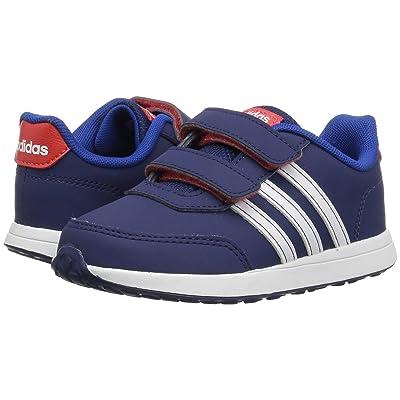 adidas Kids VS Switch 2 CMF (Infant/Toddler) (Dark Blue/White/Hi-Res Red) Kids Shoes