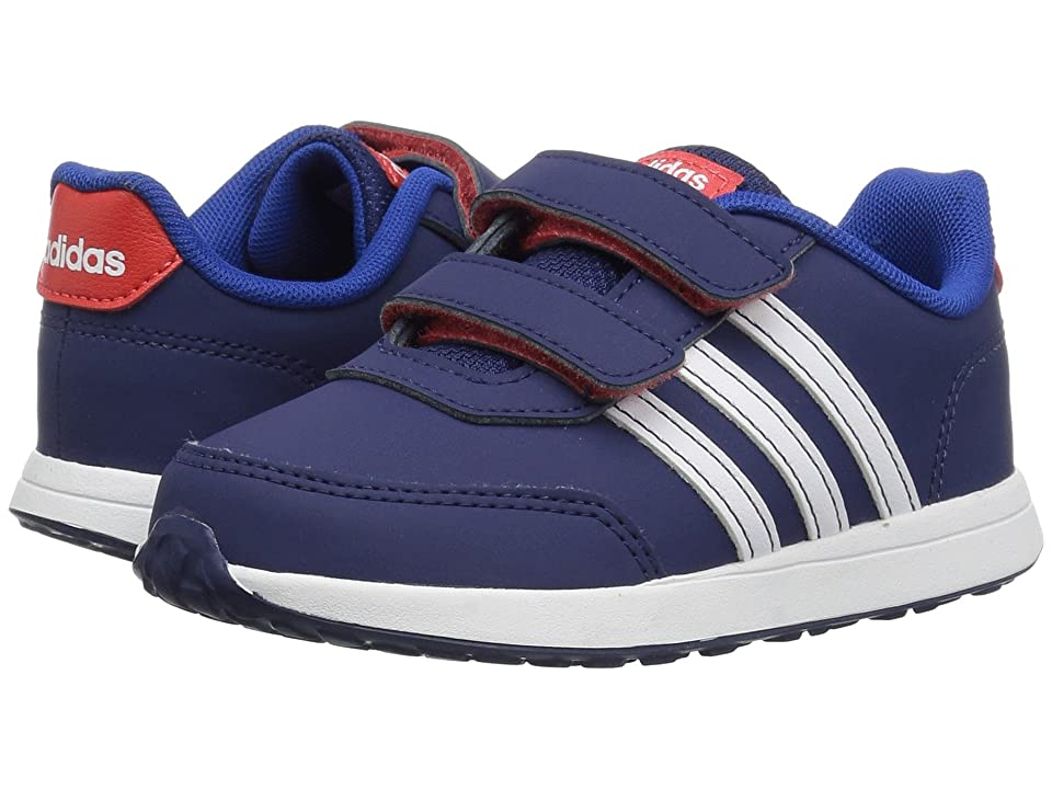 adidas Kids VS Switch 2 CMF (Infant/Toddler) (Dark Blue/White/Hi-Res Red) Kids Shoes