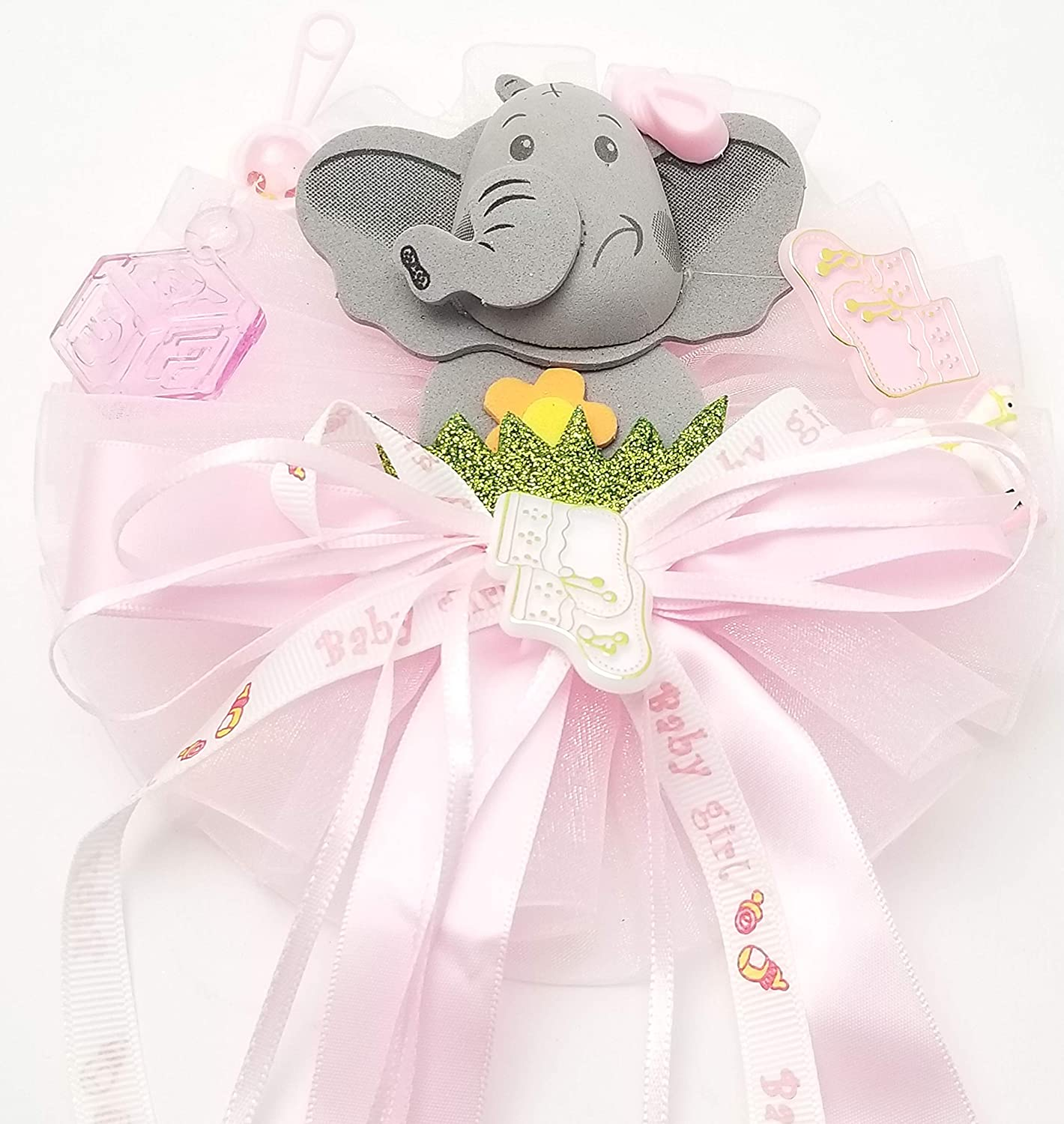 NEW Girl Elephant Mommy To Be Corsage