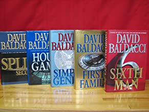 King and Maxwell Series Complete Set, Volumes 1-5, By David Baldacci. Hardcover (Split Second / Hour Game / Simple Genius ...