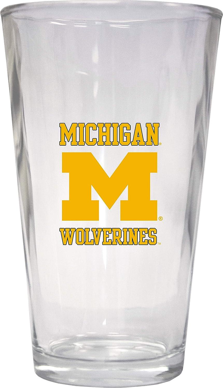 送料無料/新品 University of Michigan 16 4-Pack Pint Glass 大好評です oz