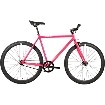 FabricBike- Bicicleta Fixie, piñon Fijo, Single Speed, Cuadro Hi ...