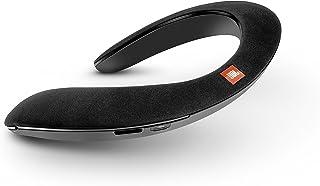 JBL SoundGear ウェアラブルネックスピーカー Bluetooth/apt-X対応/31mm径スピーカー4基搭載 ブラック JBLSOUNDGEARBLK【国内正規品/メーカー1年保証付き】