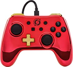 Wired Controller for Nintendo Switch - Chrome Metroid