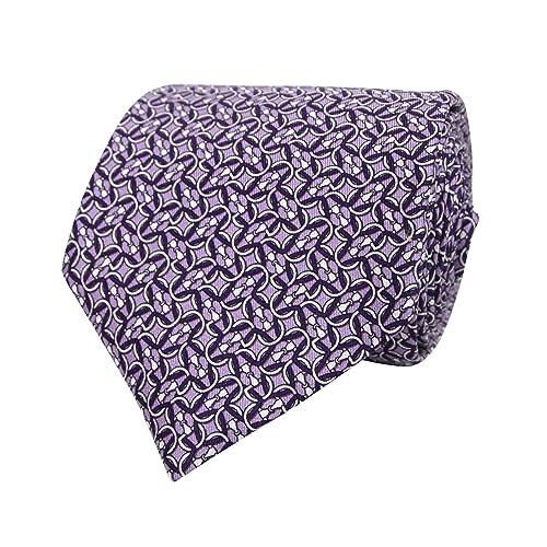 6b87139595d5d0 Gucci Men s Monogram Horsebit Print Purple Lavender Silk Neck Tie 336249  5370