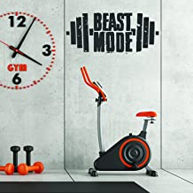 Fitness Gym Muur Workout Decor Vinyl Decal - Inspirerende Motivationele Sport Stickers Citaten voor Oefening Kamer Beast M...