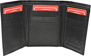 Leather Marshal Tri-fold Mens Walle