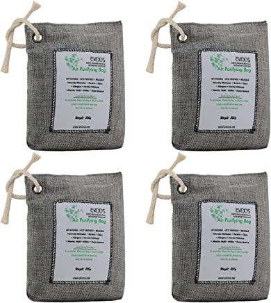 EKOOS Naturally Activated Charcoal Air Freshener Deodorizer Odor  Neutralizer Bags 8924fe05c0ae7