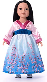 Little Adventures Asian Princess Doll Dress