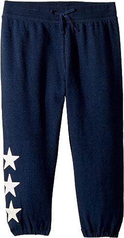 Jersey Capri Jogger Pants (Little Kids/Big Kids)