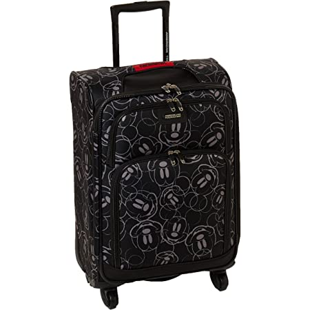 18//21 Mickey Mouse Scribbler Multi-Face 2-Piece Set American Tourister Disney Hardside Luggage with Spinner Wheels
