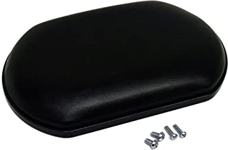 Wheelchair Calf Pad, Black (Each), Universal Fits Most Medline, Drive, Invacare, E&J, Guardian, Lumex, Tuffcare, ALCO & Other Manual Wheelchairs
