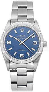 Air-King Mechanical (Automatic) Blue Dial Mens Watch 14010 (Certified Pre-Owned)