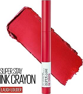 Maybelline SuperStay Ink Crayon Lipstick, Matte Longwear Lipstick Makeup, Laugh Louder