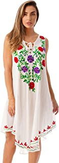Best mexican embroidered swimsuit Reviews