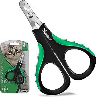 Candure Nożyce do pazurów, obcinacz do paznokci dla zwierząt kota Psów - Stali Nierdzewnej