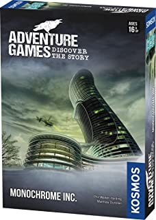 Adventure Games: Monochrome (English)