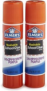 Elmer's Disappearing Purple School Glue Sticks 2 Count