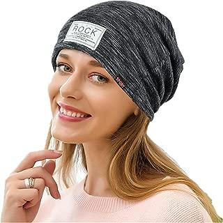 Womens Head Scarf, India Muslim Scarf Hat Lightweight Stretch Turban Hat Lace Floral Print Hair Wrap Headwear