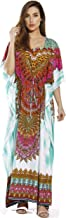 Riviera Sun Maxi Length Cinch Waist Caftan Kaftans for Women