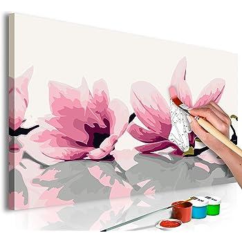 Malset mit Holzrahmen 100x50 Leinwand Erwachsene Gemälde Kit DIY n-A-0630-d-m