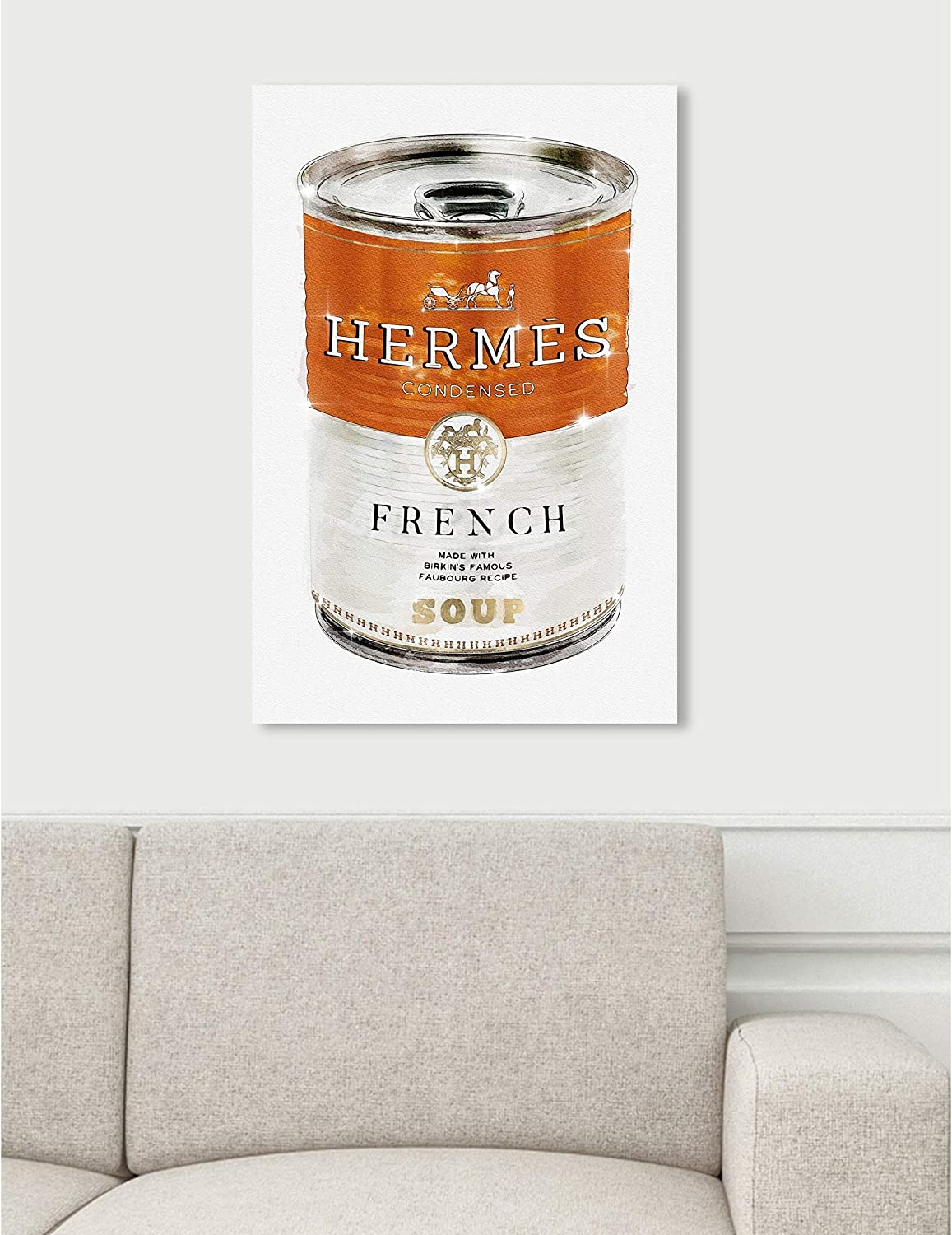 Amazon.com Oliver Gal 'French Luxe Soup' Fashion and Glam Wall ...