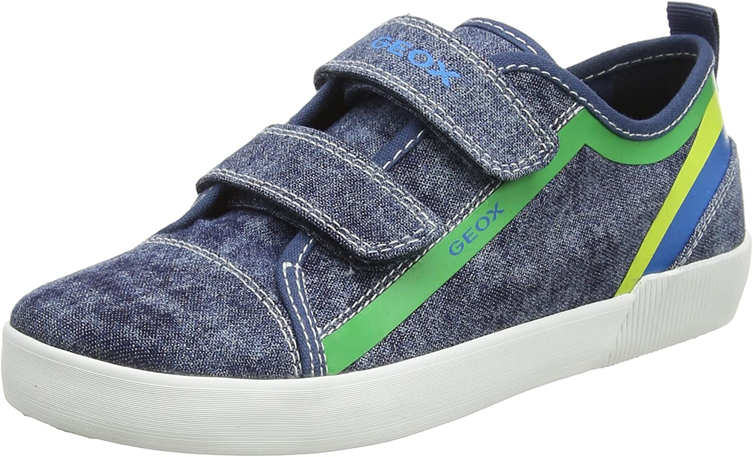 Geox trend rank Boys J NEW before selling Kilwi A Low-Top Blue Green UK 1.5 Sneakers