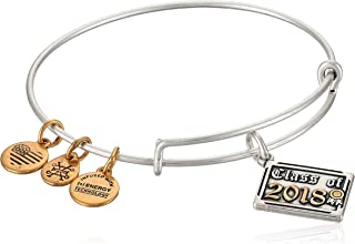 Womens Class of 2018 EWB Bangle Bracelet, Expandable
