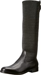 Best black stretch mid calf boots Reviews
