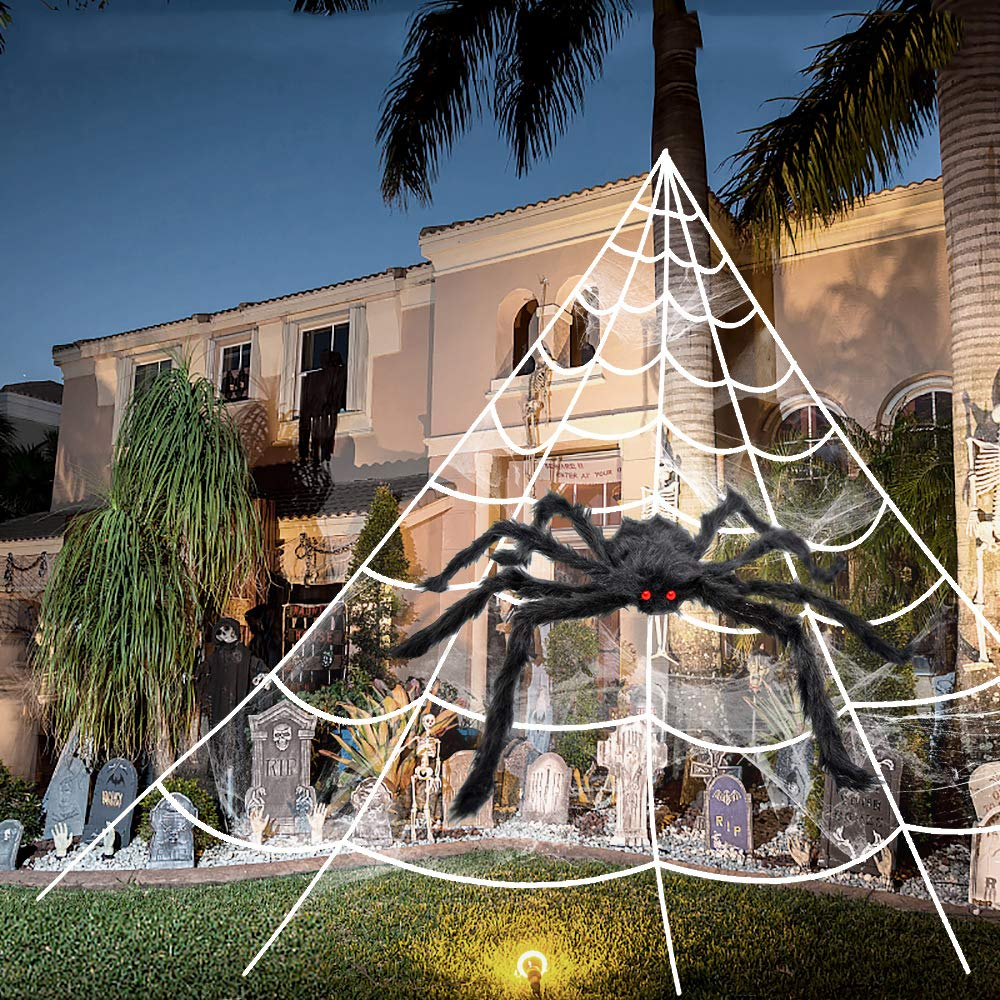 Super Stretchy Spider Webs Webbing to Create Realistic