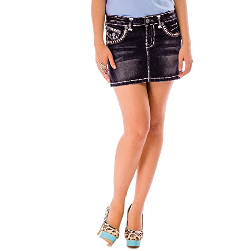 afc3f6fc14e Denim Skirt For Women Plus Size - Womens Ladies Denim Skirts - Ladies  Skaker Mini Denim