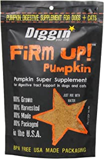 Diggin Your Dog gReDFn Firm Up Pumpkin Supplement, Vegetable, 9.5H X 6.5W X 2.5D (Pack of 3)