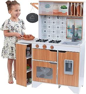 KidKraft 53440 Taverna kök med ismaskin och rollspel tillbehör ingår, ljus och ljud
