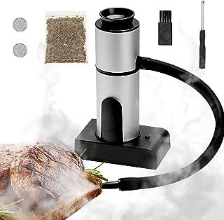 2021 New Smoking Gun, Portable Smoke Infuser Smoke Gun, Cocktail Smoker, Hand-held Cold Smoker Food Smoker for Any Meat Co...