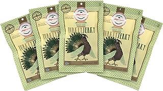 Aufschnitt Turkey Jerky | Star-K Certified Glatt Kosher | Gluten Free, No Nitrites | Responsibly Sourced | 5 Packs - Basil Lime Flavor - 2 Oz Each