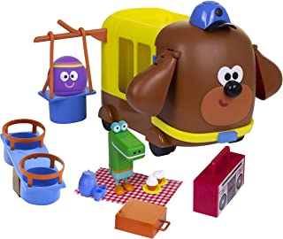 Hey Duggee Adventure Bus and Playset | Funny Role Play Action | Two Play Figures | Accessories | Picnic and Park Fun | CBe...