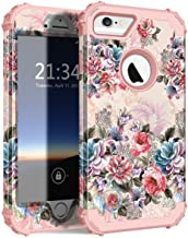 iPhone 6s Case, iPhone 6 Case, Hocase Shockproof Heavy Duty Hard Plastic+Silicone Rubber Bumper Full Body Protective Case ...