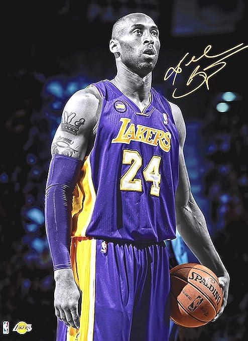 Amazon.com: Kobe Iconic Sports Legend Bryant Signature Poster ...
