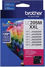 Brother Printer LC205M Super High Yield Ink Cartridge, Magenta