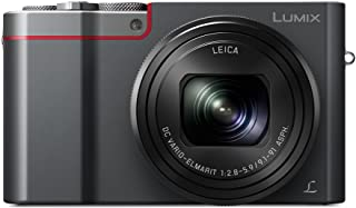 Panasonic Lumix DMC-TZ100EG-K - Cámara Compacta Premium de 21.1 MP (Sensor de 1 Objetivo F2.8-F5.9 de 25-250mm Zoom de 10X 4K WiFi Bluetooth Raw) Color Plata